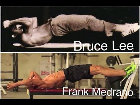 "Dragon Flag Tutorial - Frank Medrano Abs Workout "" Bruce Lee Favorite Exercise """