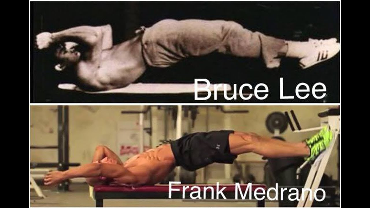 """Download Dragon Flag Tutorial - Frank Medrano Abs Workout """" Bruce Lee Favorite Exercise """""""