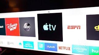Gambar cover Samsung's Apple TV App Hands-On