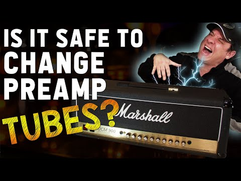 How To Change Preamp Tubes | Is it Safe?