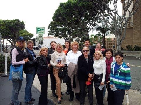 Laguna Beach Walking Tour with Sean McCracken & Janelle Naess Owner of Laguna Beach Walks