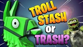 STILL THE *BEST LLAMA*? Legendary Troll Stash Llama Opening | Fortnite Save the World