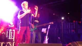 "Aaron Carter: ""Let Go"" (New Single) Live @ Club Fever: South Bend, IN. 9-24-2013."