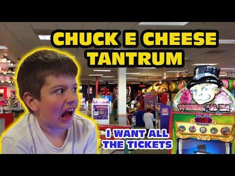 Kid Temper Tantrum Returns To Chuck E Cheese [ Original ]