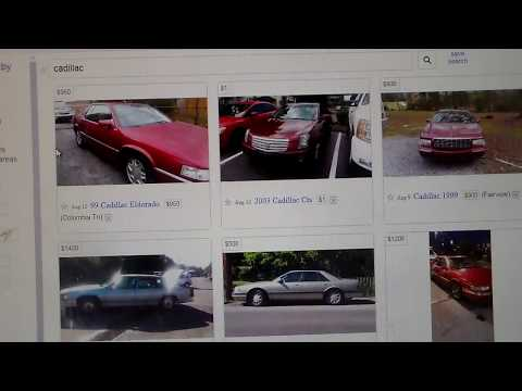 What Kind Of Cheap CADILLAC'S Do You Find On Craigslist?