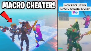 Trying Out For A MACRO CHEATER ONLY TikTok Clan (Making Them FLOAT!)