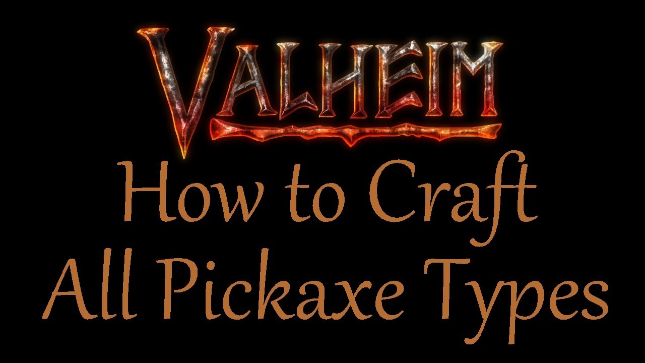 How to Craft All Pickaxes in Valheim (Antler, Bronze, and Iron)