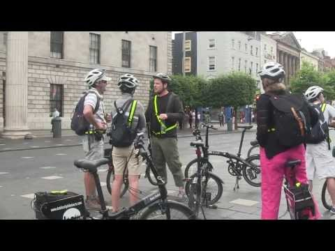 Saw New Riverdance Line World Record Set While On Dublin City Bike Tours