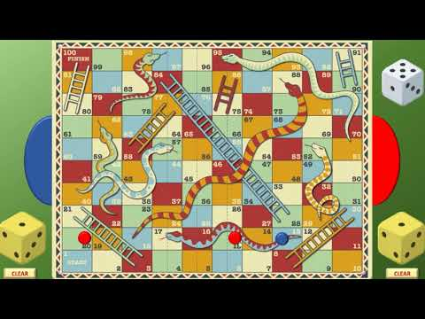 SNAKES & LADDERS - Made On PowerPoint - Free To Download And Play