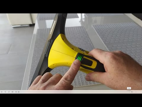 Karcher WV5 Window Cleaner - Review Window Vac