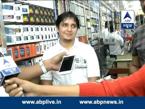 iPhone is now available for sale in India l Junkies so crazy midnight after the launch