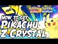 How to Get Pikachu Z Crystal Location – Pokémon Sun and Moon Pikanium Z Location