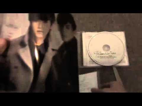 K.R.Y Promise You,CD+ DVD Unboxing
