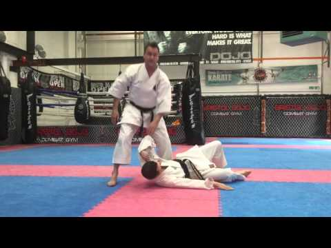 Arm Control Drill and joint lock takedowns