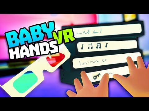 CAN WE SUMMON THE SECRETS TO THE TAPES? - Baby Hands VR Gameplay - VR HTC Vive Gameplay