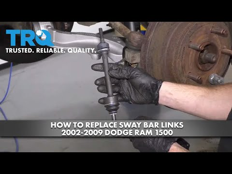 How to Replace Sway Bar Links 2002-09 Dodge RAM 1500