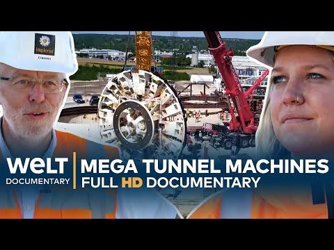 MEGA TUNNEL MACHINES - Drilling, Digging & Blasting   Full Documentary