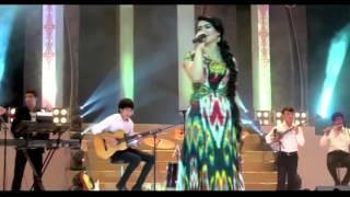 Tajik song Nigina Amonkulova   Rohguzar 2014 HD