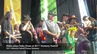 Kitaro - performs Taiko Drums at the Harmony Festival
