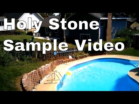 Sample Drone Footage  Video - Holy Stone F181 Quadcopter Drone
