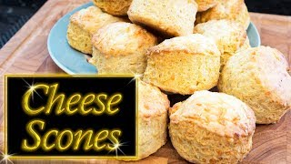 Cheese Scones,  easy, quick, and delicious,