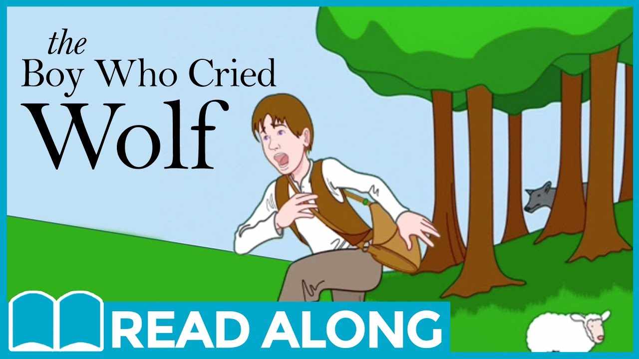 The Boy Who Cried Wolf Readalong Storybook Video For Kids Ages 2 7