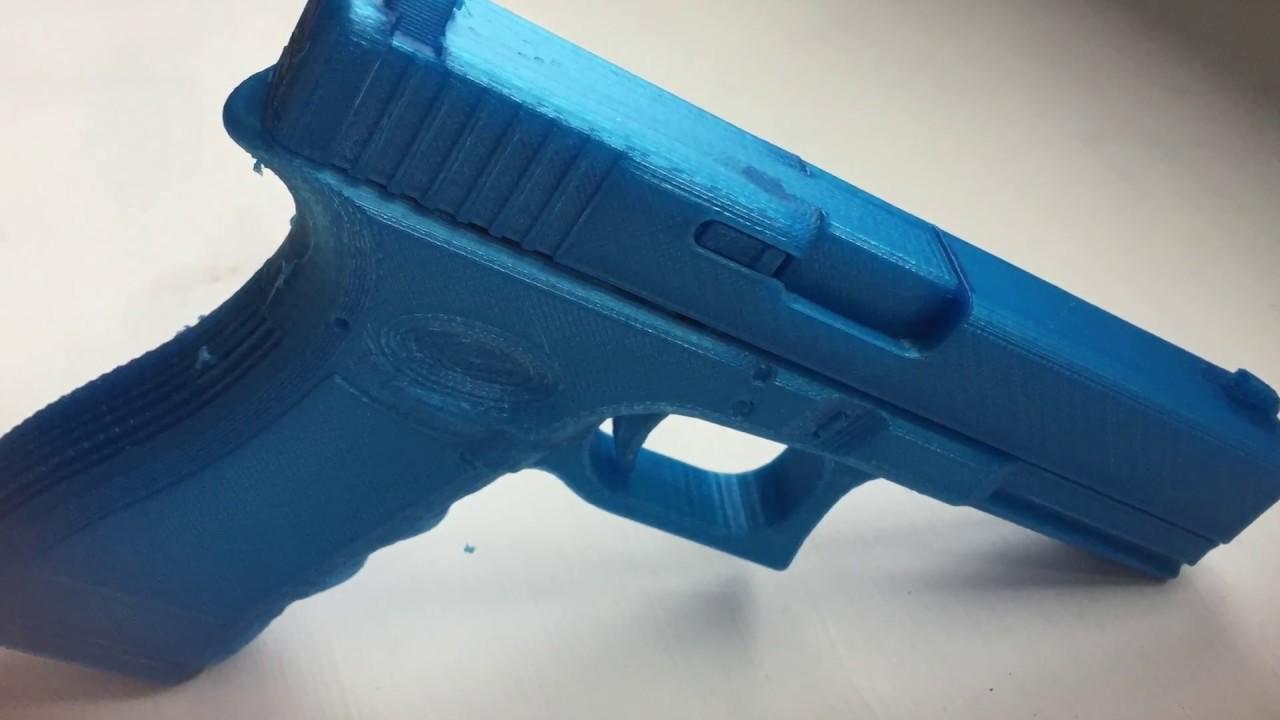 Glock 17 3d Printed Video