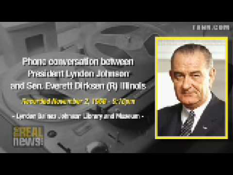 LBJ accused Nixon of treason
