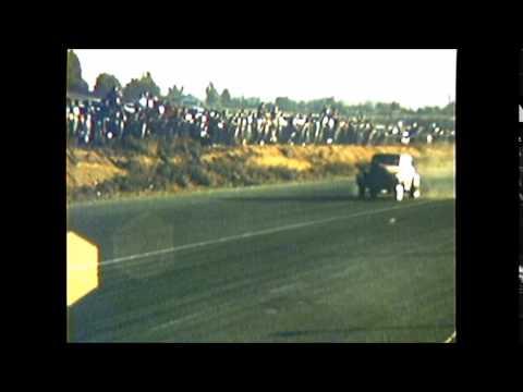 1959 RIVERSIDE RACEWAY hd willys gasser sedan race