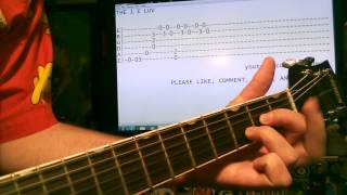 Guitar lessons online REM The one I love tab