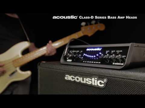 Acoustic Class-D Series Bass Amp Heads