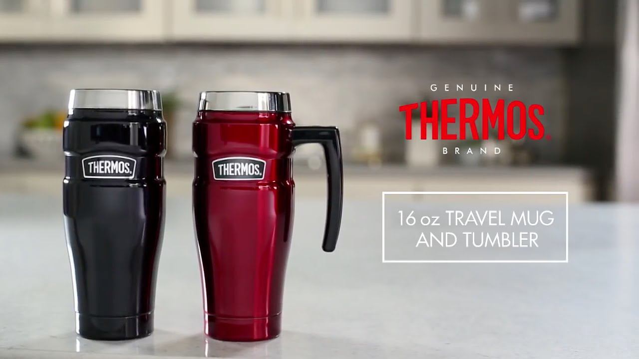 thermos travel mug thermos 174 stainless king travel mug amp travel tumbler 16 13168