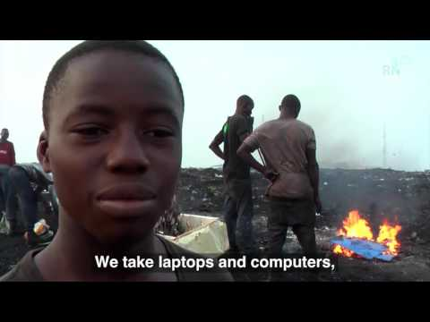 Ghana Australian waste found in west Africa 's worst dump  http://africafrique.com