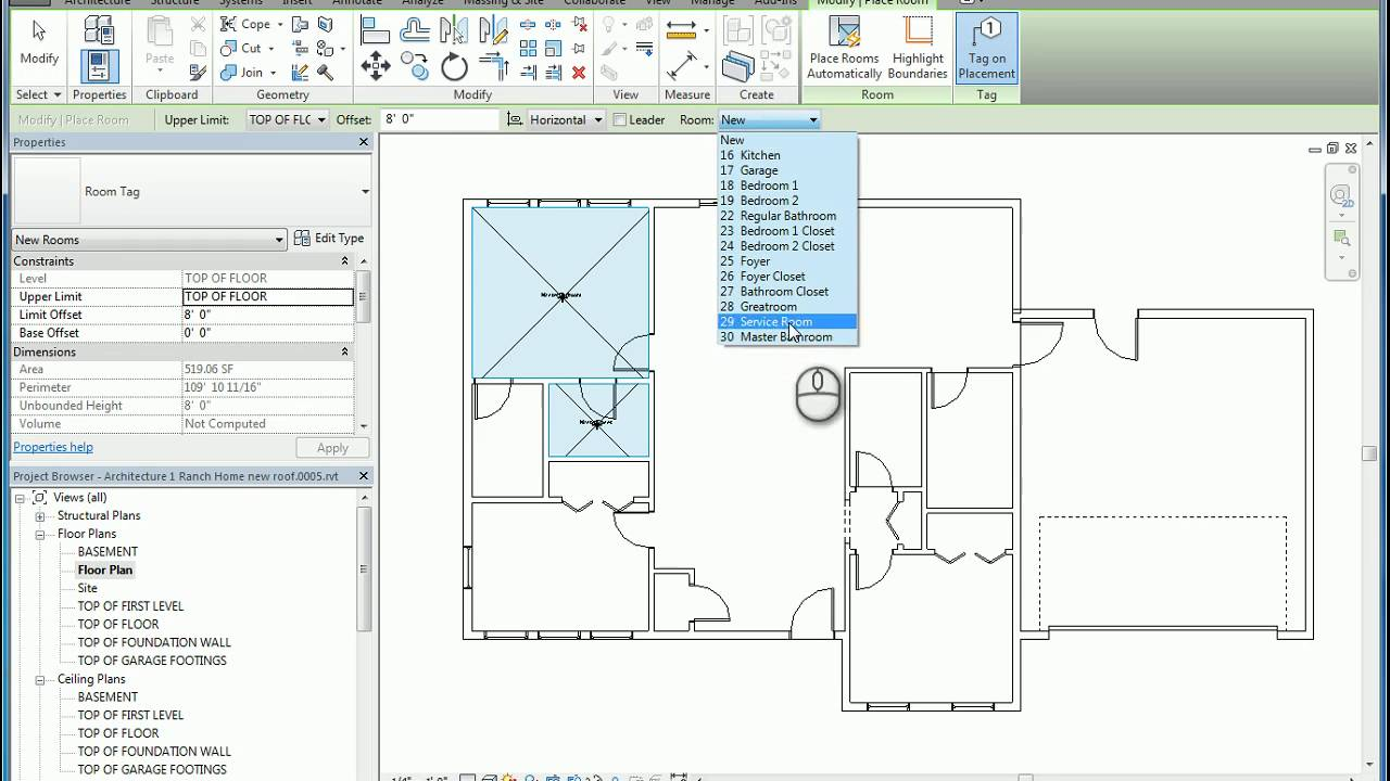 How To Paint Walls In Revit