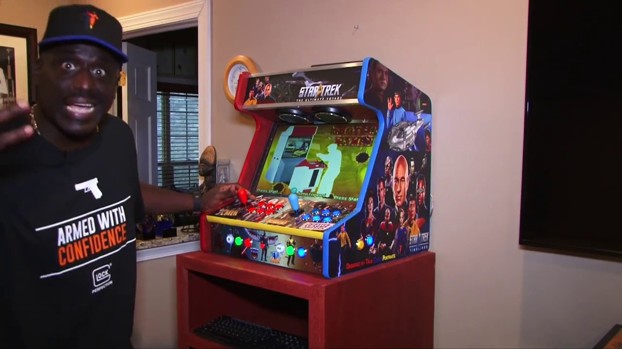 The Ultimate Mame Arcade Cabinet Pt 4 Completed Build ...