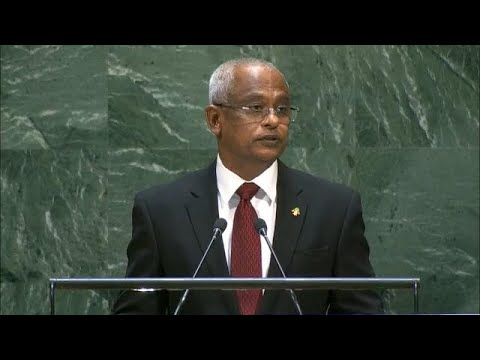 🇲🇻 Maldives - President Addresses General Debate, 74th Session