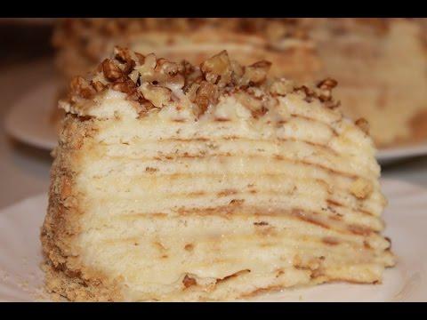 рецепт торта с масляным кремом пошагово