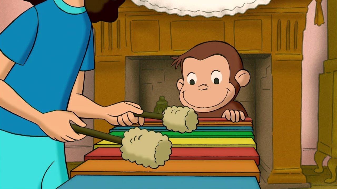 George Makes Music   Curious George   Cartoons for Kids   WildBrain Kids