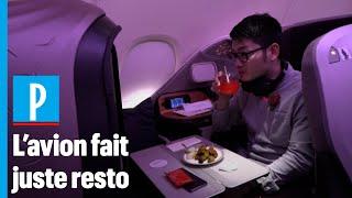 Singapour : le succès des repas servis à bord d'un A380 cloué au sol