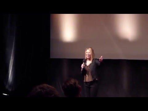 Deborah Kara Unger duces DARK at the Oldenburg Film Festival with Nick Basile & Whitney Able