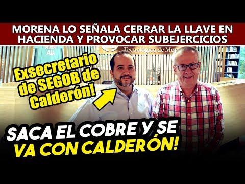 Obrador tenía razon! Carlos Urzúa se reúne con exsecretario de SEGOB de Calderón