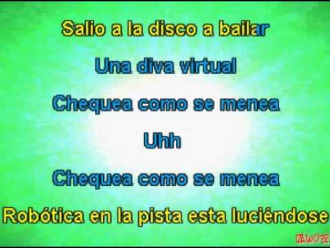 Don Omar - Diva virtual (karaoke)