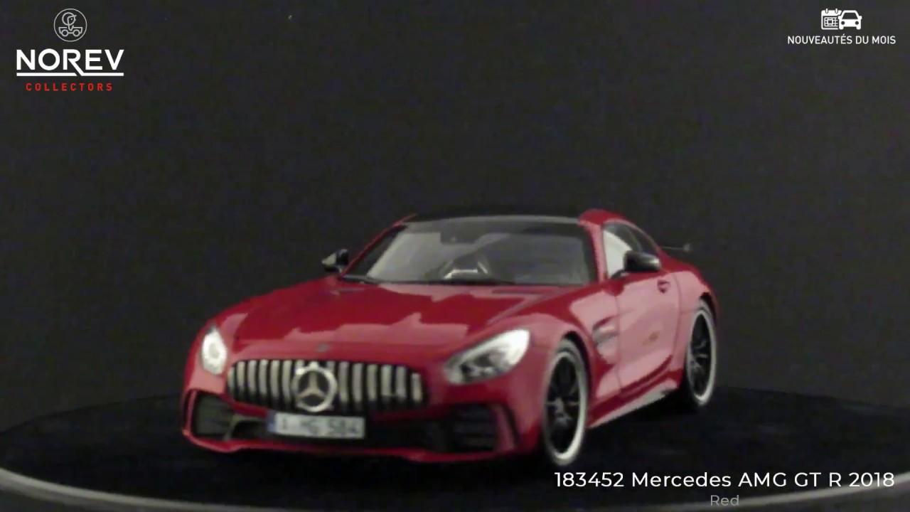2018-183452 Mercedes-Benz AMG GT R Norev 1//18