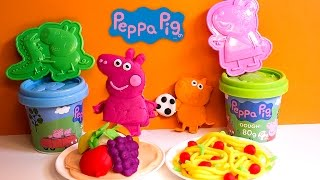 Play Doh Peppa Pig Space Rocket Dough Playset Peppa Pig Molds And Shapes Figuras De Peppa Pig
