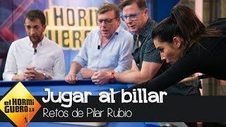 Los Morancos alucinan con el complicado y peligroso reto de Pilar Rubio - El Hormiguero 3.0
