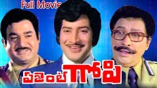 Agent gopi full length telugu movie movie: gopi, cast: krishna, jayapradha, satyanarayana, director: ksr das, music: sathyam, producers: sundarlal naha...