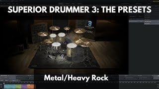 Superior Drummer 3: The Presets - Metal/Heavy Rock