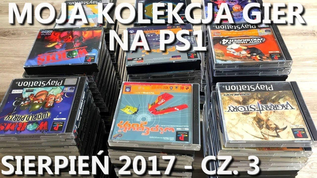 Moja kolekcja gier na PS1 – sierpień 2017 (część 3/4)