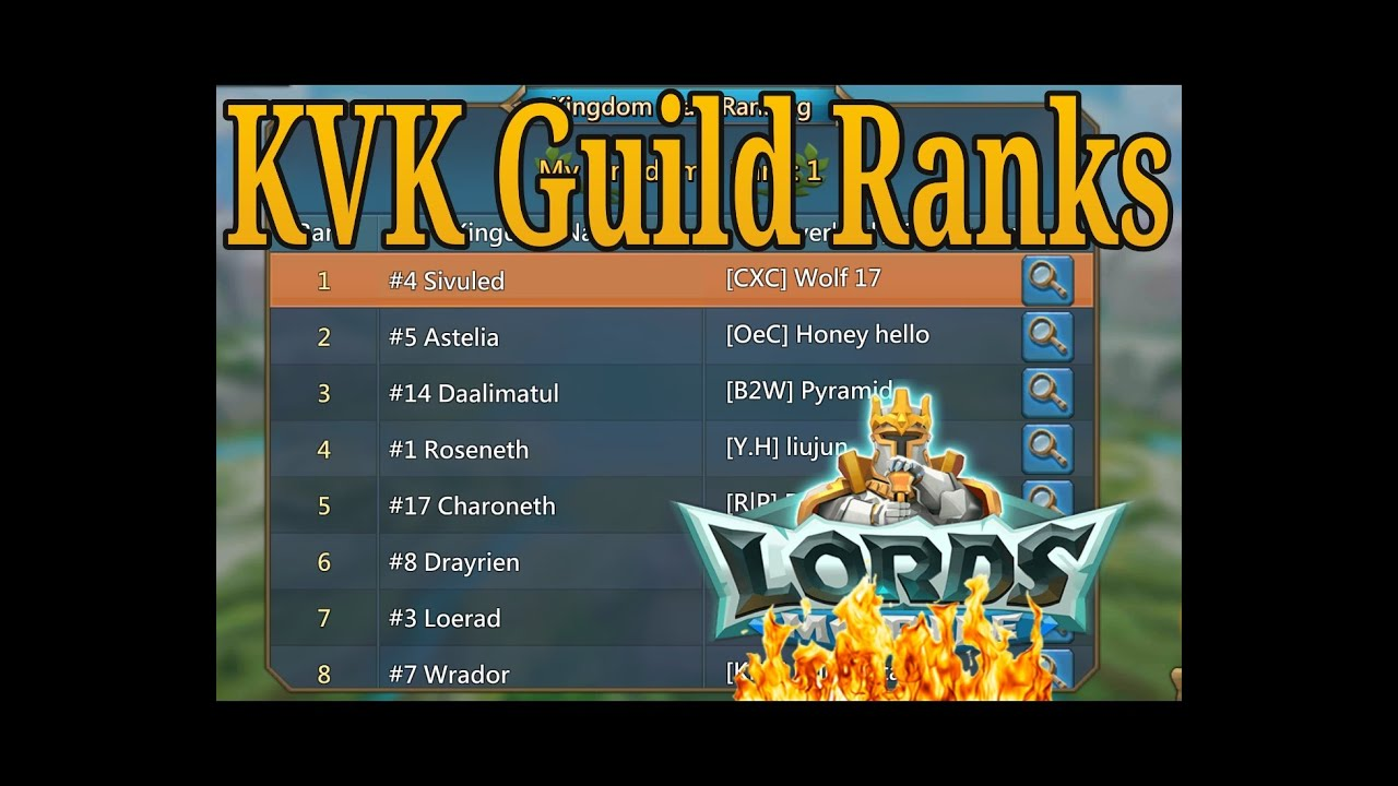 how to create guild in lords mobile