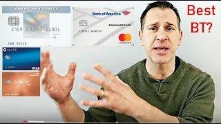 Best Balance Transfer Cards of 2019